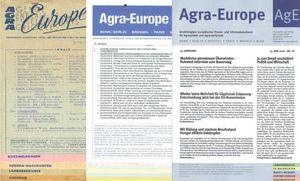 Ausgaben aus dem Archiv von Agra-Europe